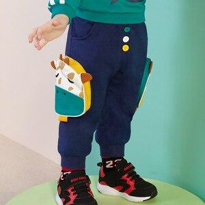 Bǎobǎo xīnkuǎn kǎtōng cháng kù nán tóng shíshàng shūshì yùndòng kù 17/5000 Baby new cartoon trousers boys fashion comfortable s