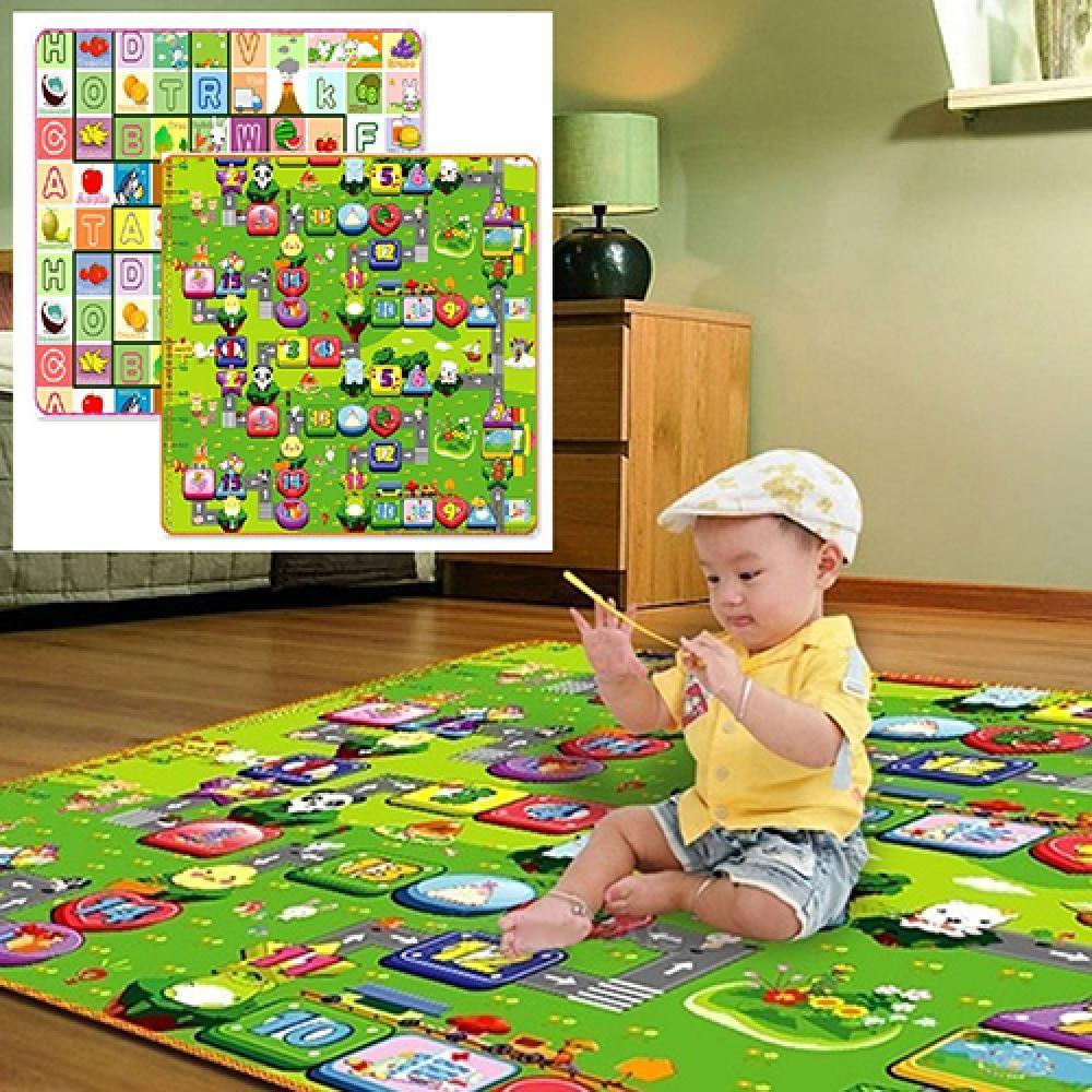 طفل أطفال طفل الزحف تلعب لعبة سجادة للرحلات إلكتروني الأبجدية الطباعة السجاد