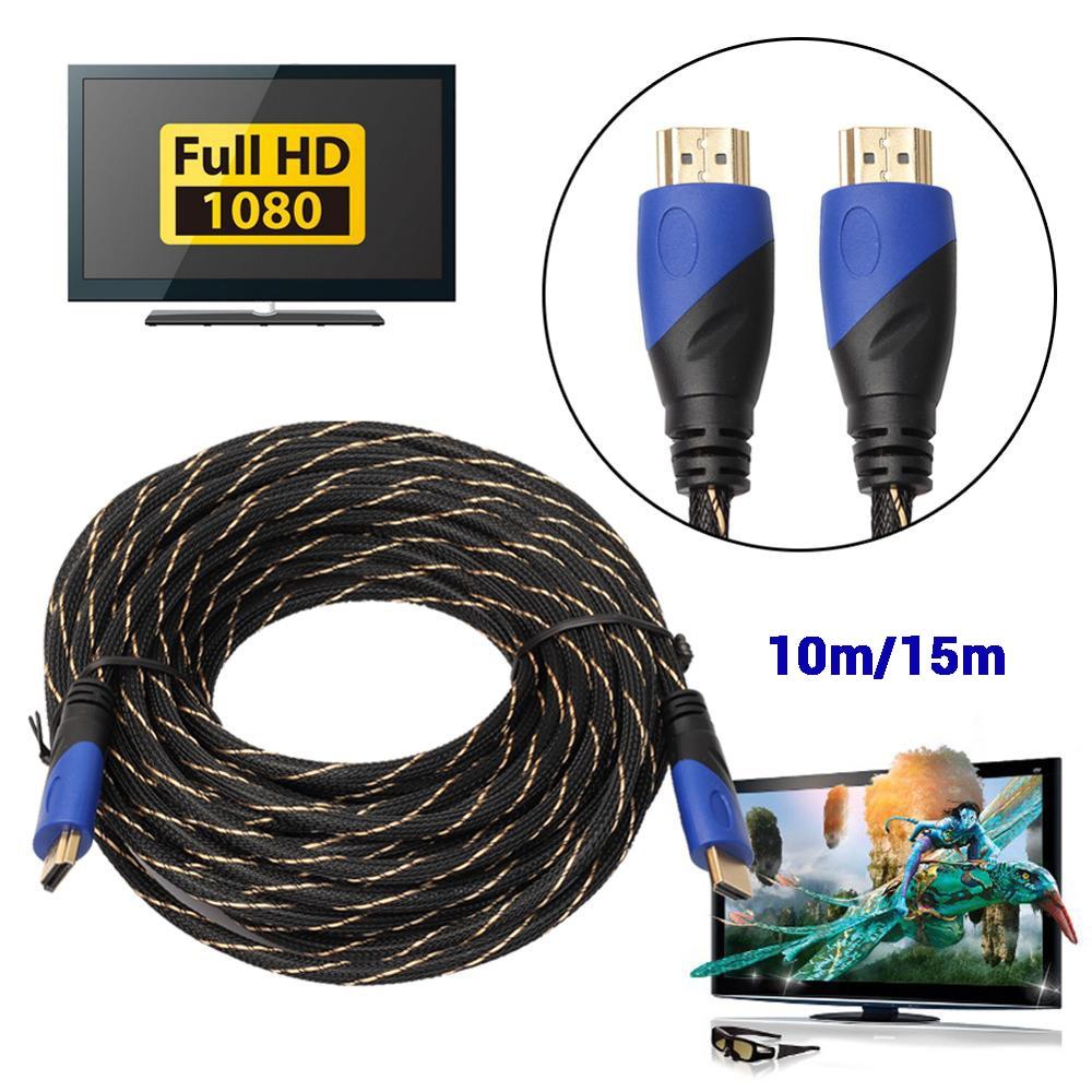 Cable AV 1,4 P HD 3D para PS3, Xbox, HDTV, conexión plateada...