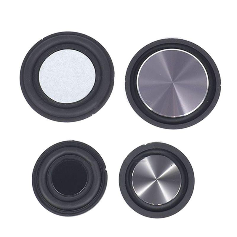 2PCS Bass Radiator Speaker Diaphragm Auxiliary Strengthen Bass Vibration Membrane Passive Radiator for Woofer Speaker DIY Kits