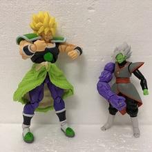 Figurines Dragon Ball SHF, jouet mobile Broly, jouet Dragon Ball Anime Broly Super Saiyan, jouets de 22cm