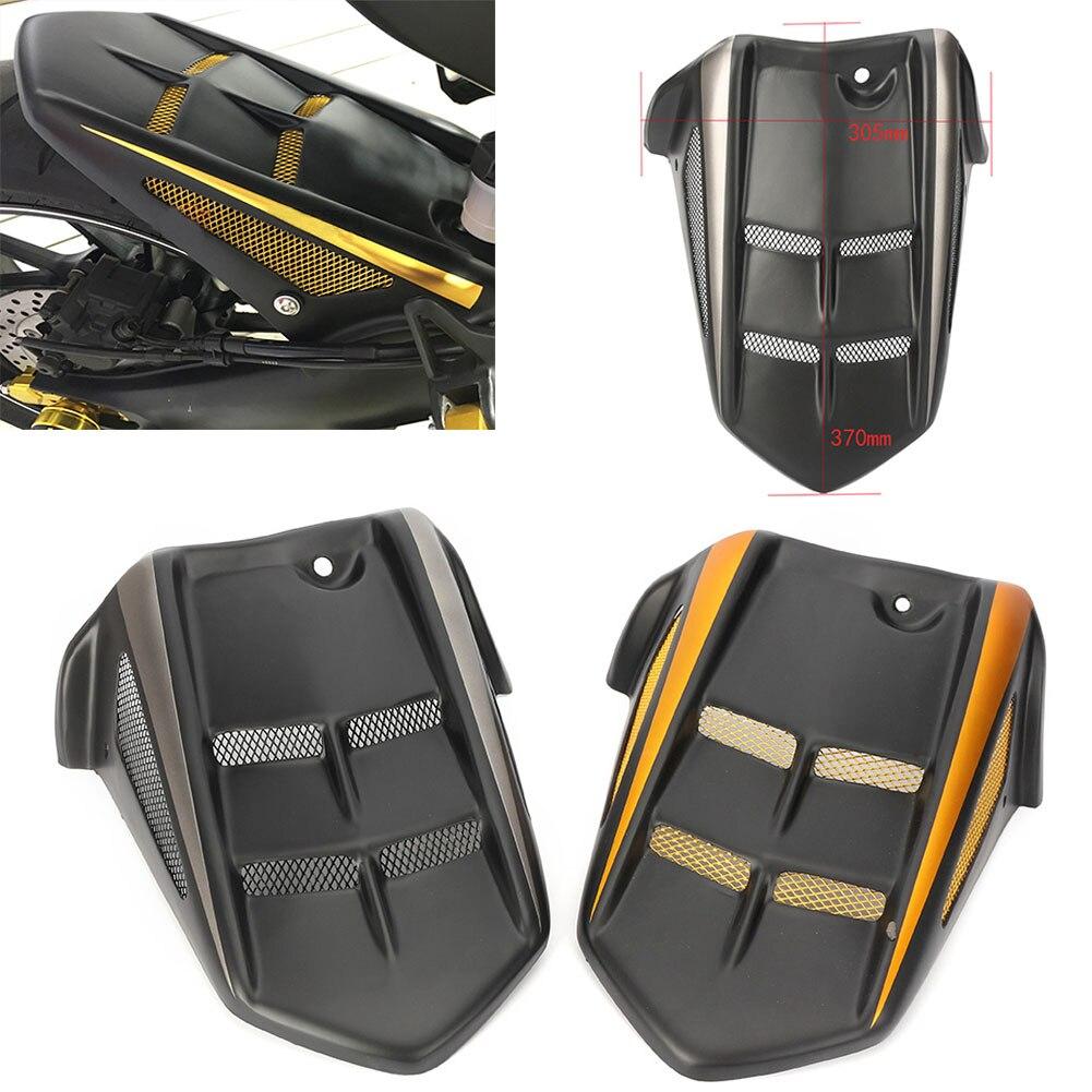 FZ09 MT09 guardabarros trasero para motocicleta guardabarros protector para Yamaha MT-09 FZ-09 2014 2015 2016 plástico ABS