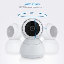 Tuya Smart Home 1080P IP Smart Camera 360 Angle Wireless WiFi Night Vision Video Camera Webcam Camco