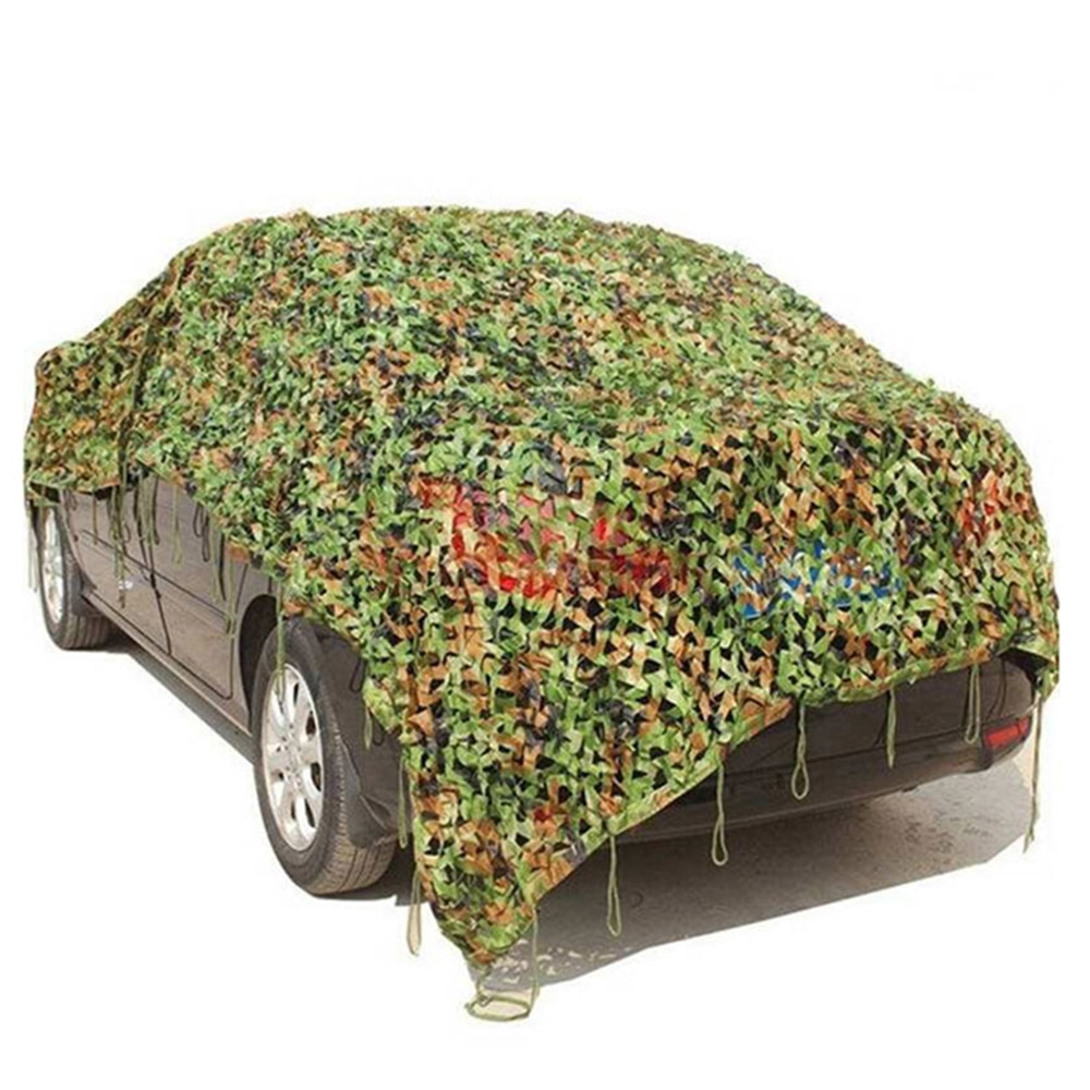 1.5x3m /2x10m Hunting Military Camouflage Nets Woodland Army training Camo netting Car Covers Tent Shade Camping Sun Shelter