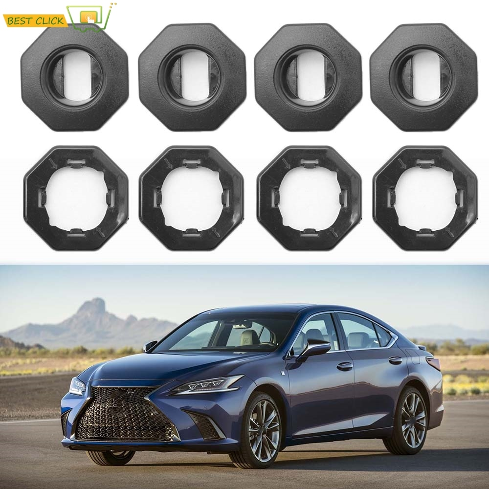 For TOYOTA LEXUS GS GX LX ES LS IS RX NX Car Floor Mat Carpet Fastener Retention Hold Clips Oval Clamps Fixing Clamps Foot liner