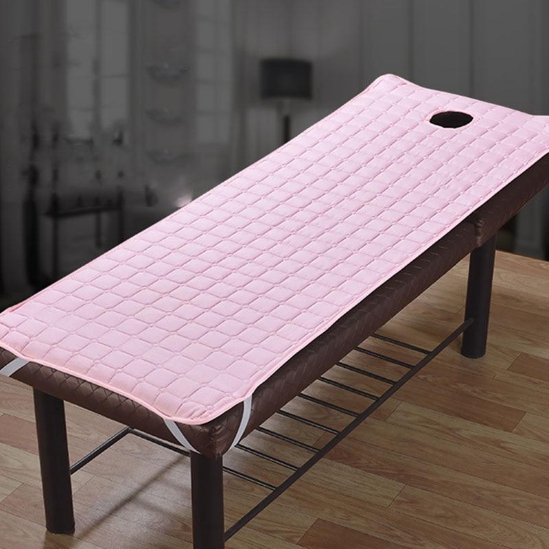 طاولة تدليك صالون تجميل ، ملاءة سرير ، صديقة للبشرة ، علاج سبا ، غطاء سرير مع فتحة تنفس ، 185 × 70 سنتيمتر
