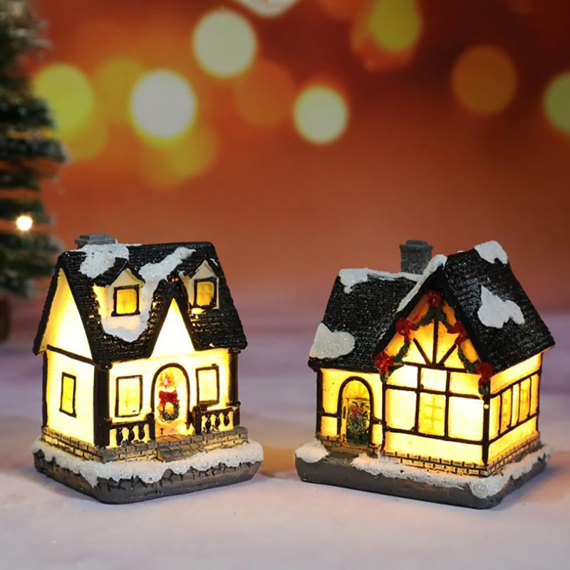 Merry Christmas LED Lights Pendants Ornaments Xmas Gifts New Year Decoration