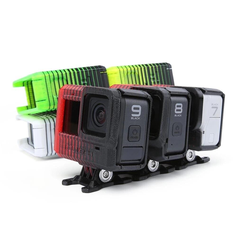 Ifly ثلاثية الأبعاد طباعة بولي يوريثان قابل للتعديل زاوية GoPro بطل 5/6/7/8 كاميرا جبل (0 ~ 40 درجة) ث/لين غطاء/ND8 تصفية ل XL5 V4/DC5/SL5 FPV الإطار