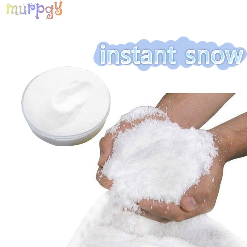 Fake Magic Snow For Charms Slime Accessories Modeling Clay Fluffy Instant Super Powder Toy Kids Supplies