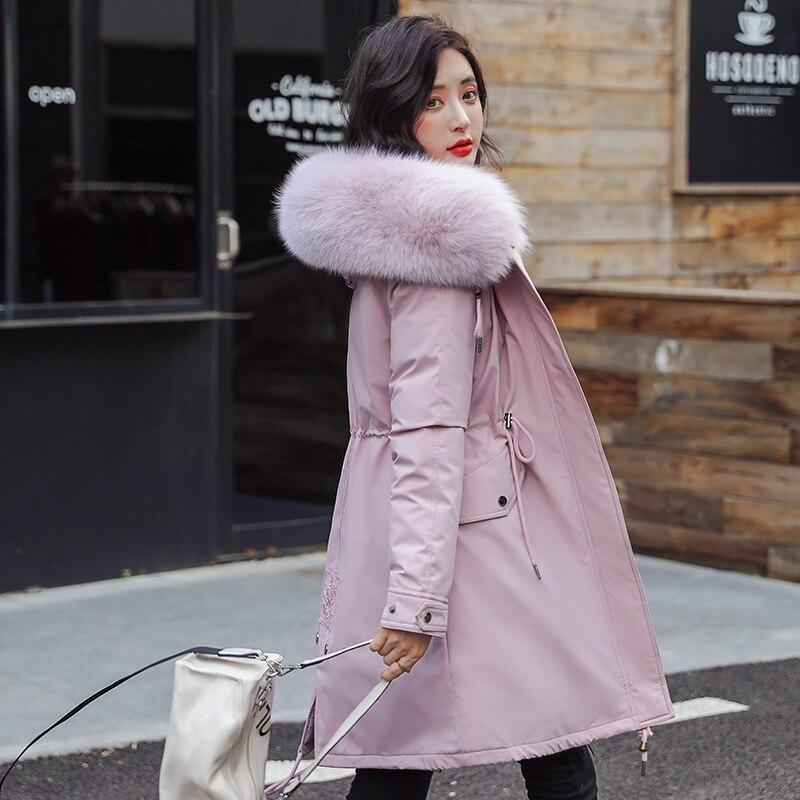 معطف نسائي دافئ, معطف جديد للمرأة معطف طويل خريفي شتوي دافئ مخملي رشيق معطف فراء معاطف نسائية لون واحد جيوب كبيرة