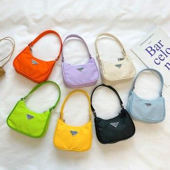 Enfants sacs à bandoulière filles sous les bras sacs 2020 nouvelle tendance bébé une épaule messager mode sac à main