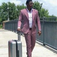 tailored plus size high quality mens pants suits plus size groom best man coat business wedding blazer 2 pcs jacketpants