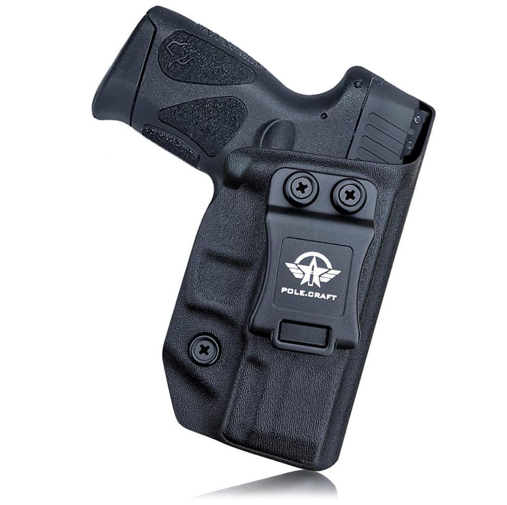Kydex-حافظة مسدس IWB ، حزام مخفي ، لـ Taurus G3C/ G2C / G2S / Millennium PT111 G2 / PT140 9 مللي متر/.40
