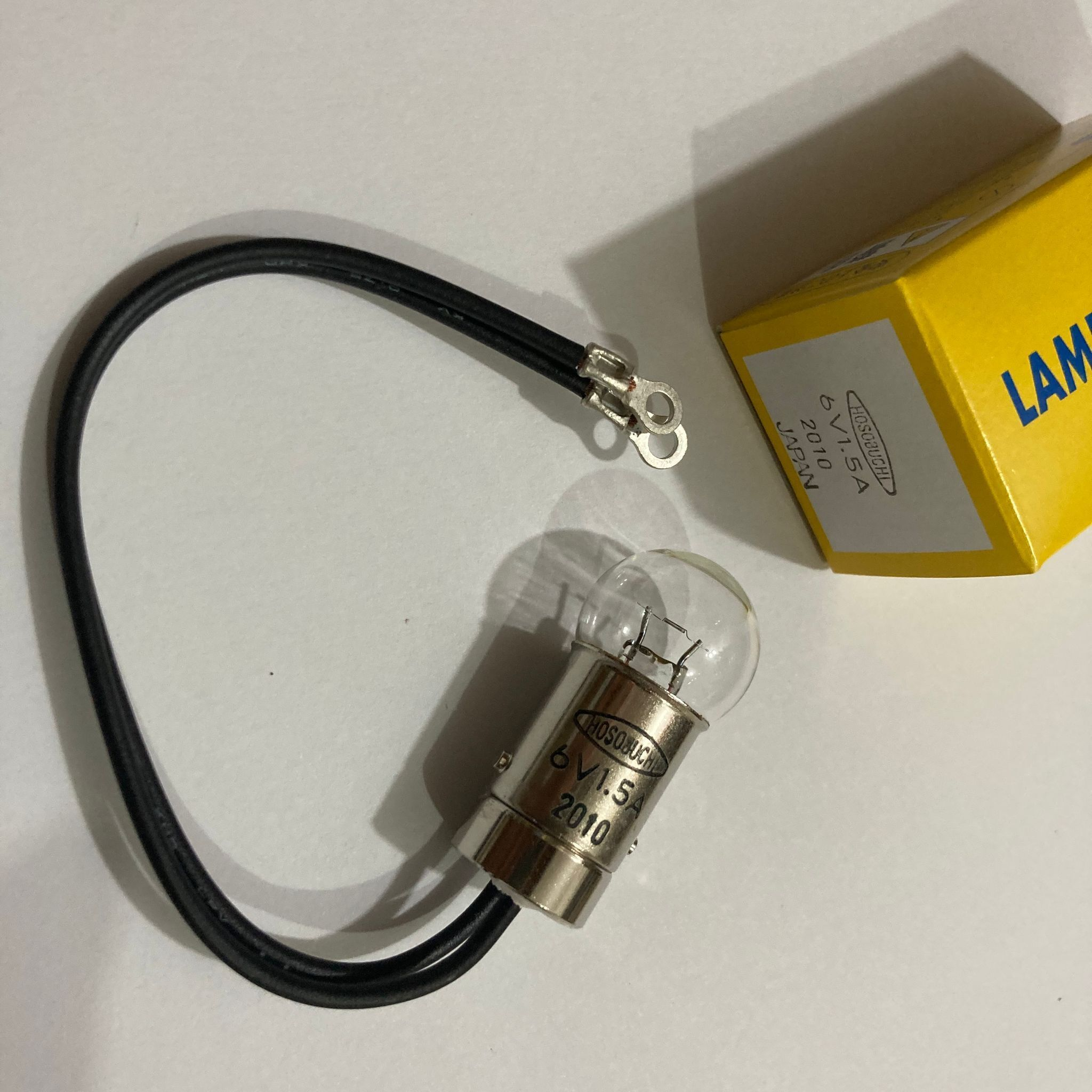 Hosobuchi 6V1.5A لمبة ، 6 فولت 1.5A