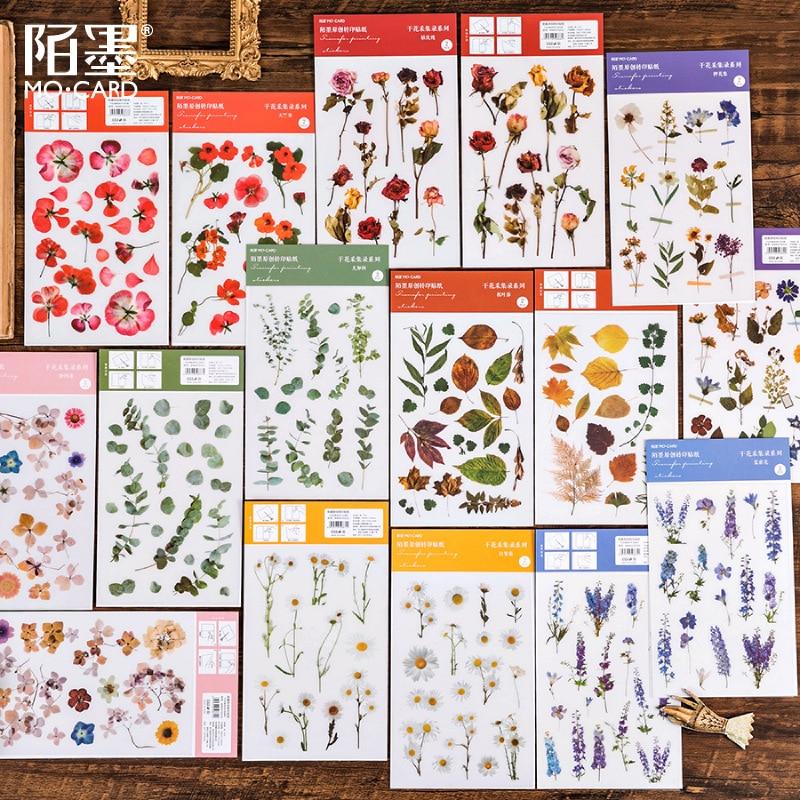 Album-de-recortes-de-flores-washi-autoadhesivo-hojas-de-eucalipto-pegatinas-para-albumes-de-recortes-diario-tarjetas-diy-2-hojas-paquete