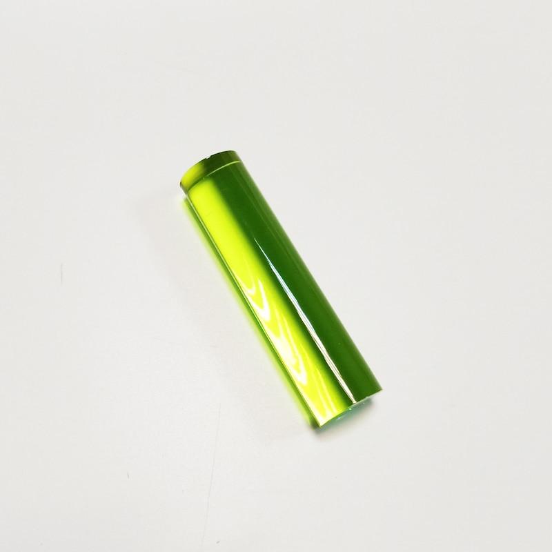 PMMA acrílico luz guía acrílico barra publicidad decoración fiesta OD25MMx 10cm verde