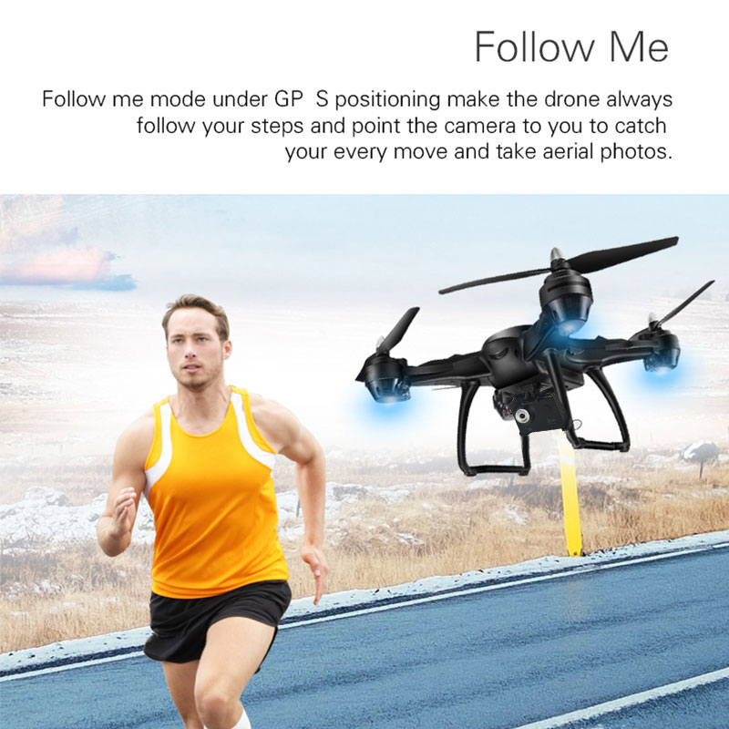 X38GF-4K quadcopter GPS lente gran angular sigue surround variable avión repuesto cámara de alta definición aérea fotografía niño 5