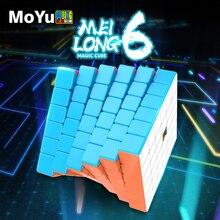 MoYu Meilong 6x6 Mofang Jiaoshi Cube 6x6x6 Cube magique 6 couches vitesse Puzzle Cubes jeu Mini taille jouets éducatifs