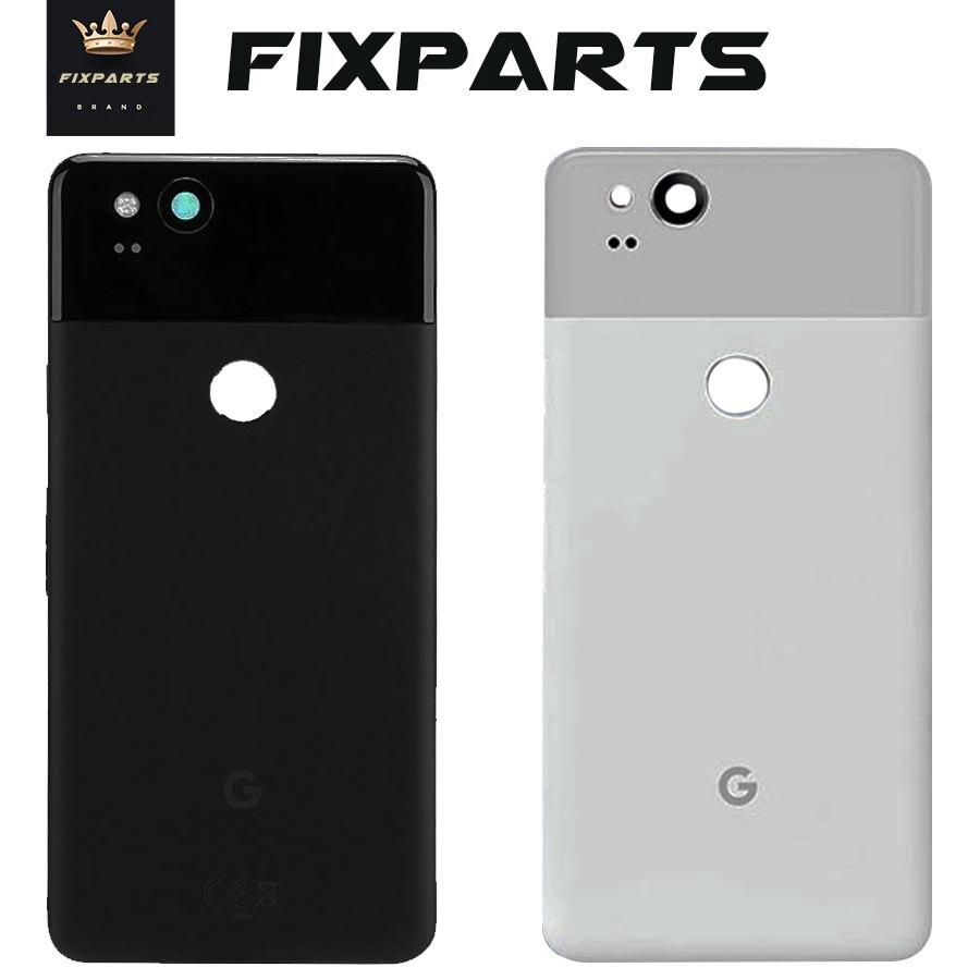 "Google Pixel2 Pixel2 XL carcasa trasera para batería puerta trasera vidrio funda carcasa 6,0 ""piezas de repuesto Google Pixel 2 XL cubierta de batería"