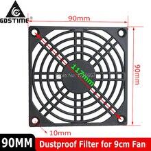 20 stks/partij Gdstime 9cm 90mm PC Fan Dust Filter Mesh Cover Beschermende Netto Guard Voor 92mm Computer case Cooling Fans
