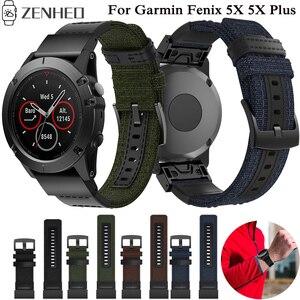 26mm Strap Quick Release Watchband For Garmin Fenix 5X 5X Plus Smart Watch Band For Garmin Fenix 3 Wristband Bracelet