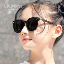 CAPONI Polarized Kids Sun Glasses Original Brand Designer Trend Boy Girl Sunglasses Anti UV Ray Prot