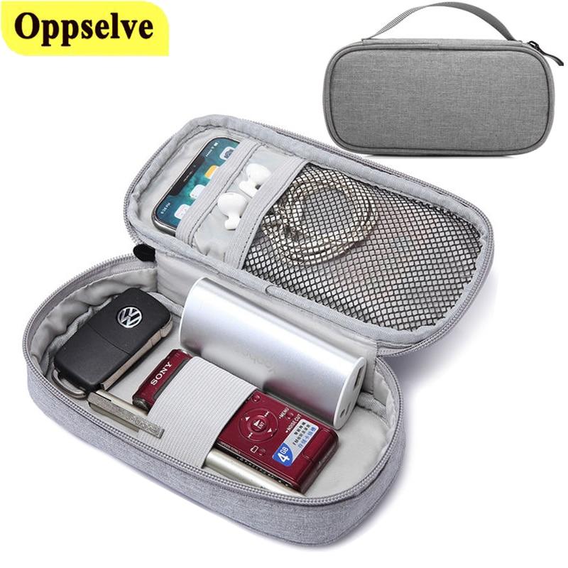 Digital bolsas de almacenamiento externo de la batería bolsa para cargador USB...