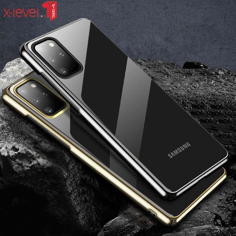 Carcasa para Samsung S20 x-level Crystal Clear Ultra Slim con ligero acabado mate para Samsung S20 + para Samsung S20 Ultra
