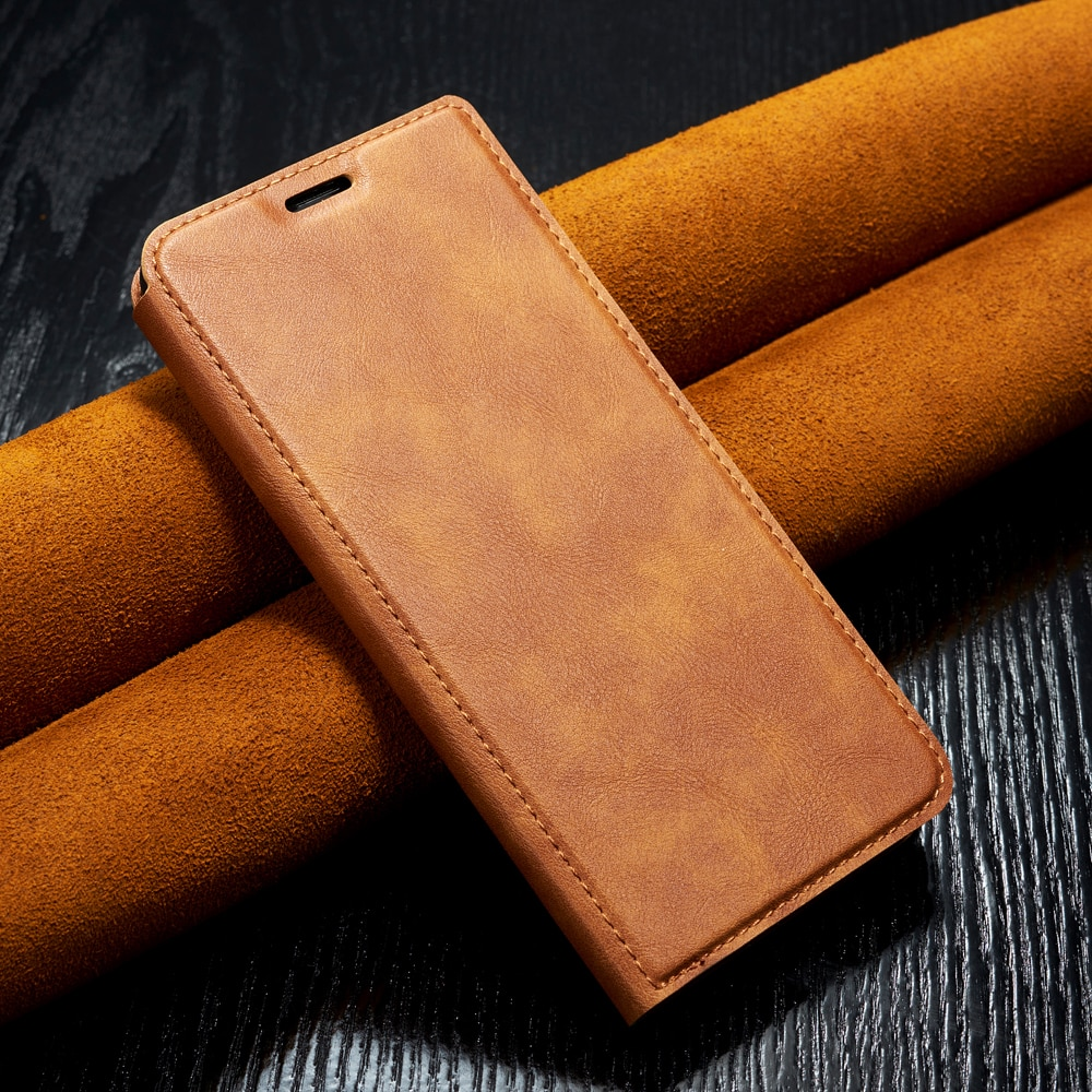 Funda de cuero para iPhone de Apple 11 Pro XS Max XR X 7 8 6s Plus magnético Flip caso para iPhone 11 Pro Max 7 8 6s Plus funda