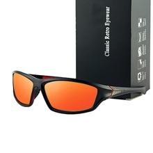 2021 New Outdoor Sports Men Sunglasses Polarised Driving Fashion Sun Glasses Night Vision Goggle Eye
