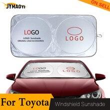 160*86cm For toyota sun shade block cover Car Window Windscreen car sunshade for Toyota 86 Avalon camry model celica CH-R Echo