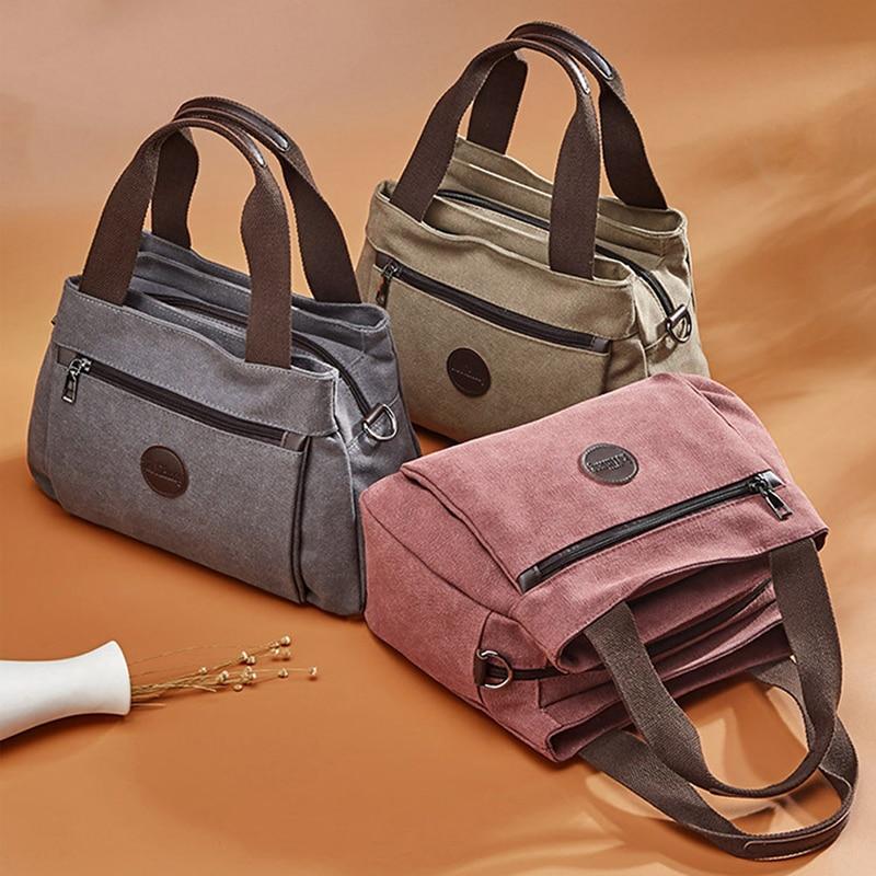 Women Bag Handbags Crossbody Canvas Bag for Woman 2021 Big Bag Canvas Shoulder Tote Female Handbags Lady Designer Messenger Bags