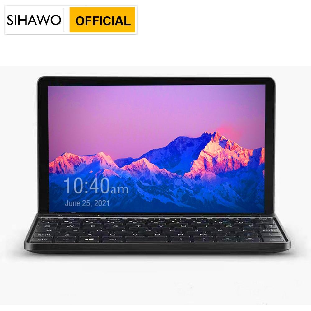 7 inch 2K Multi-touch IPS Screen Pocket Laptop 8GB RAM 256GB SSD Intel Core m3-8100Y Processor Windows 10 Computer with Keyboard