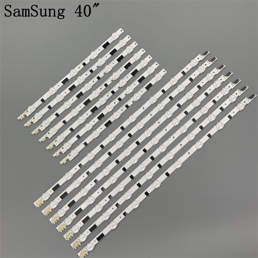 14 قطع (7R + 7L)/مجموعة UA40F5000ARXXR UA40F6300AJXXR LED قطاع ل سام سونغ 2013SVS40F L8 L5 D2GE-400SCA-R3 D2GE-400SCB-R3 100% جديد