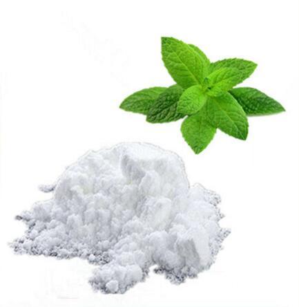 Polvo de lactato de mentyl, cristal, aditivo cosmético, enfriamiento, mentol adecuado para pieles sensibles 50/100/500/1000g