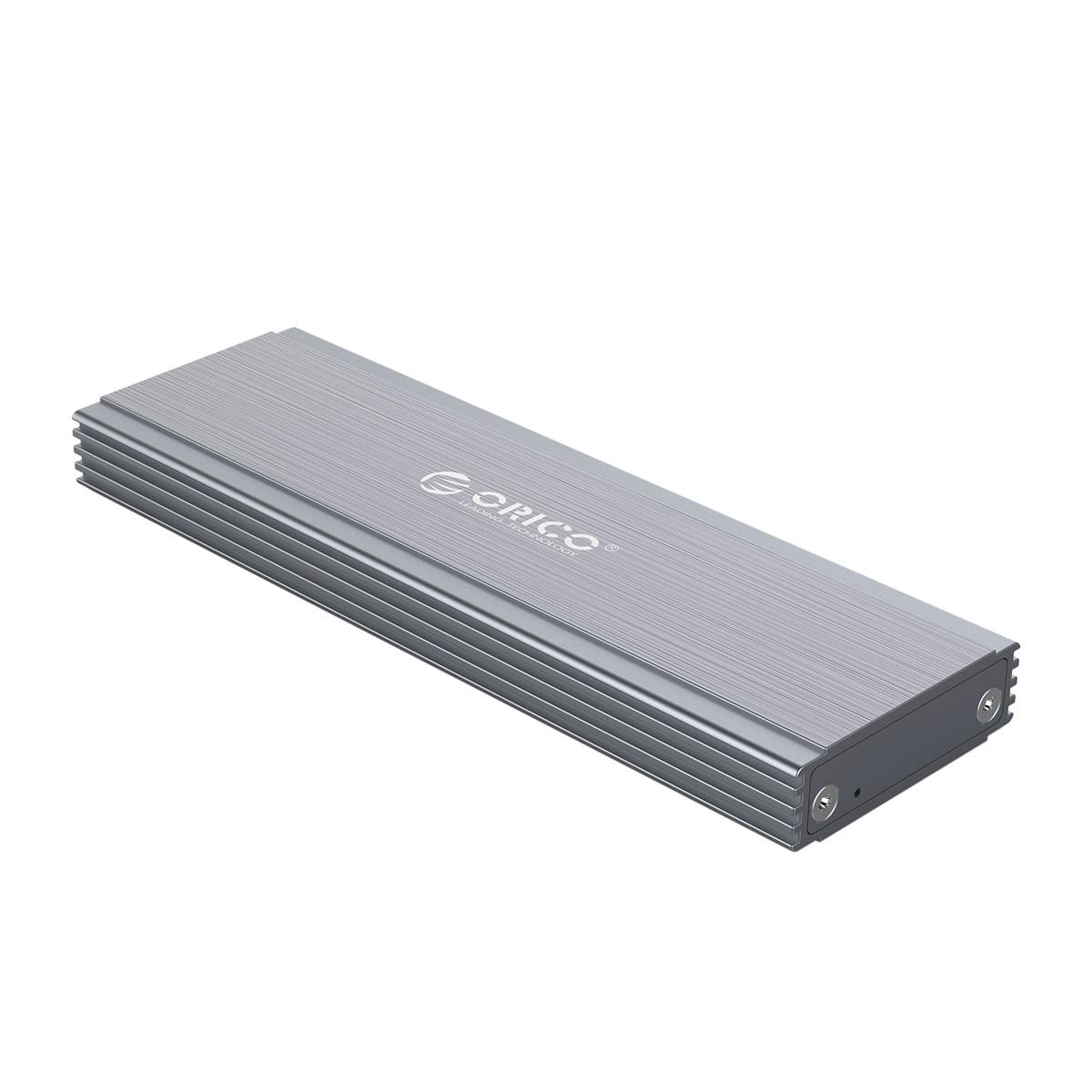 ORICO USB3.1 tipo C NGFF m2 carcasa de disco duro aleación de aluminio 5Gbps SSD carcasa deslizante para disco duro MGFF m2