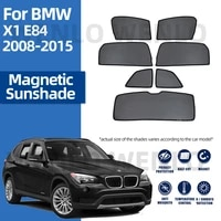 for bmw x1 e84 2008 2015 front windshield car sunshade side window blind sun shade magnetic visor auto windscreen mesh curtains