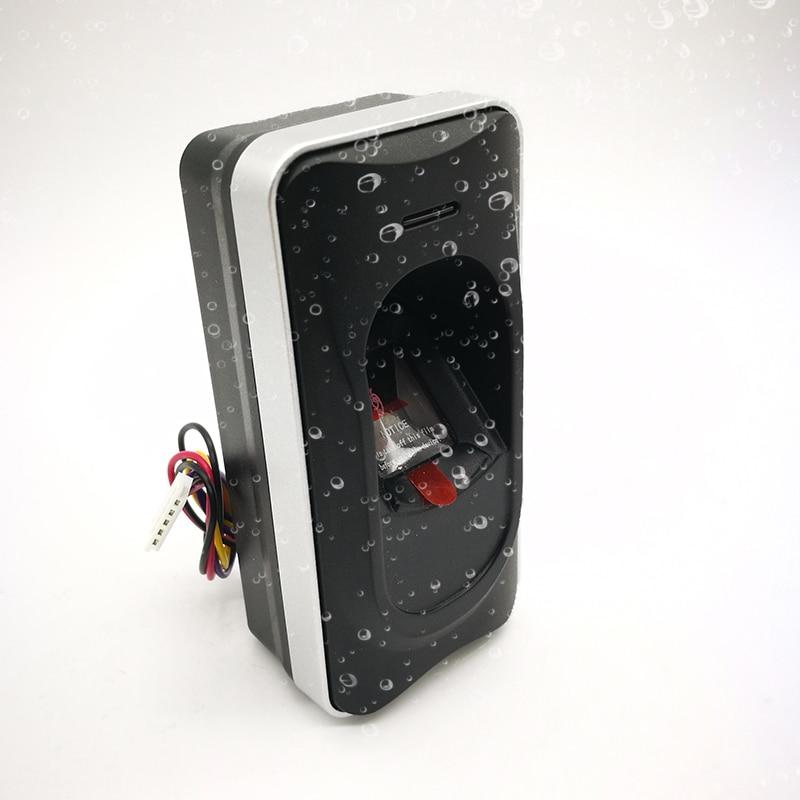 Lector biométrico de huellas dactilares y esclavo de tarjetas RS485 para exteriores resistente al agua FR1200