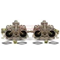 sherryberg chrome carburetor carb pair carburettor for porsche 356912 40 pii 4 weber solex type 2pcsset left right vergaer