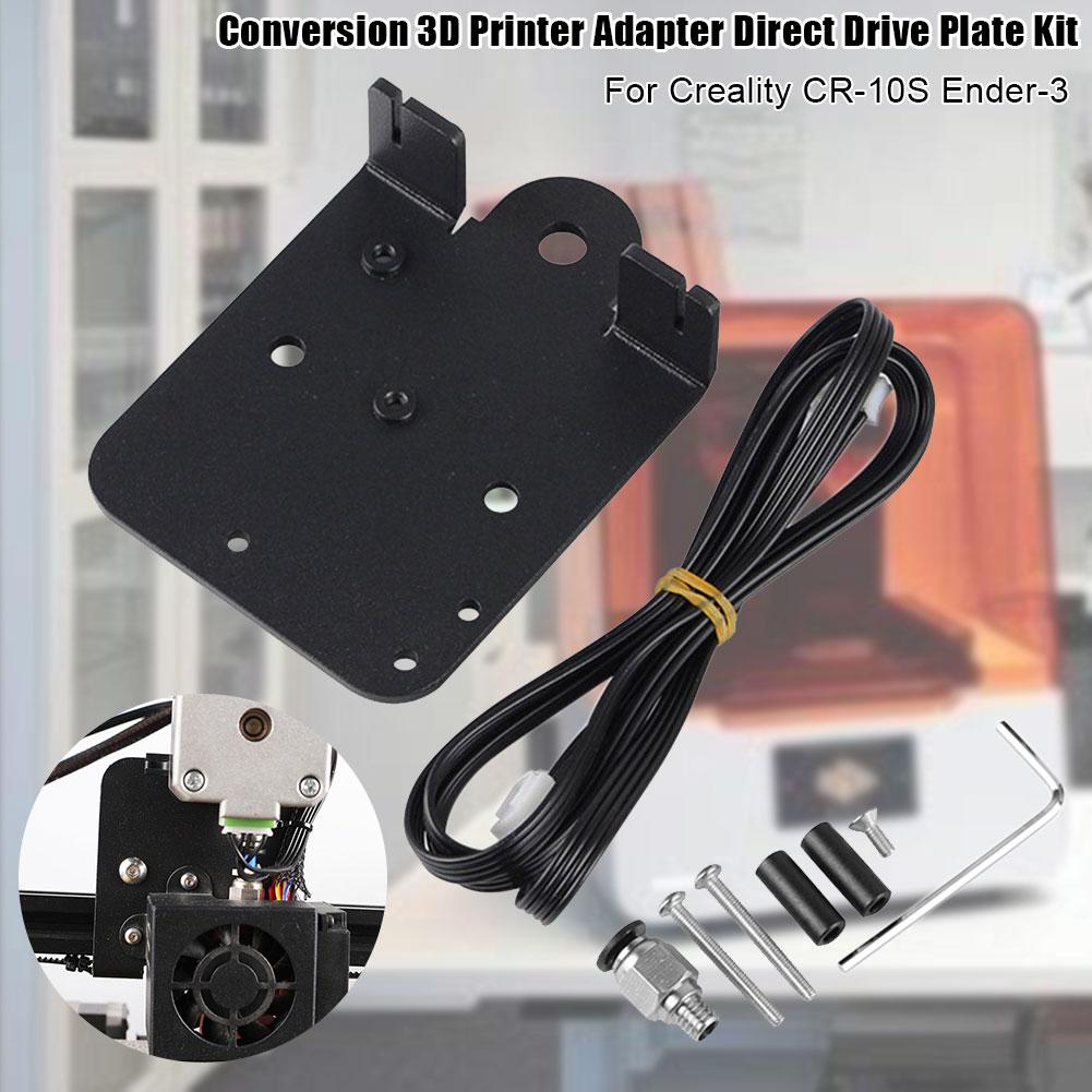 Kit placa de acionamento direto acessórios da impressora 3d profissional conjunto ferramenta anodização extrusora atualização para creality CR-10S Ender-3
