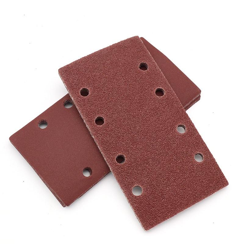 10 шт. прямоугольная флокирующая наждачная бумага/квадратная наждачная бумага 95*185 мм/специальная наждачная бумага/шлифовальная наждачная б...