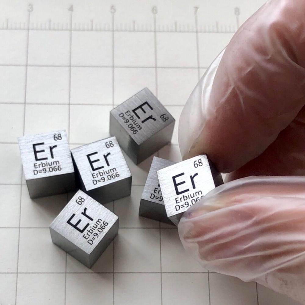 Cubo Er erbio 10mm 99.9%