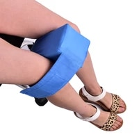 1pc knee ease pillow cushion comforts bed sleeping seperate back leg pain support knee pillow protector