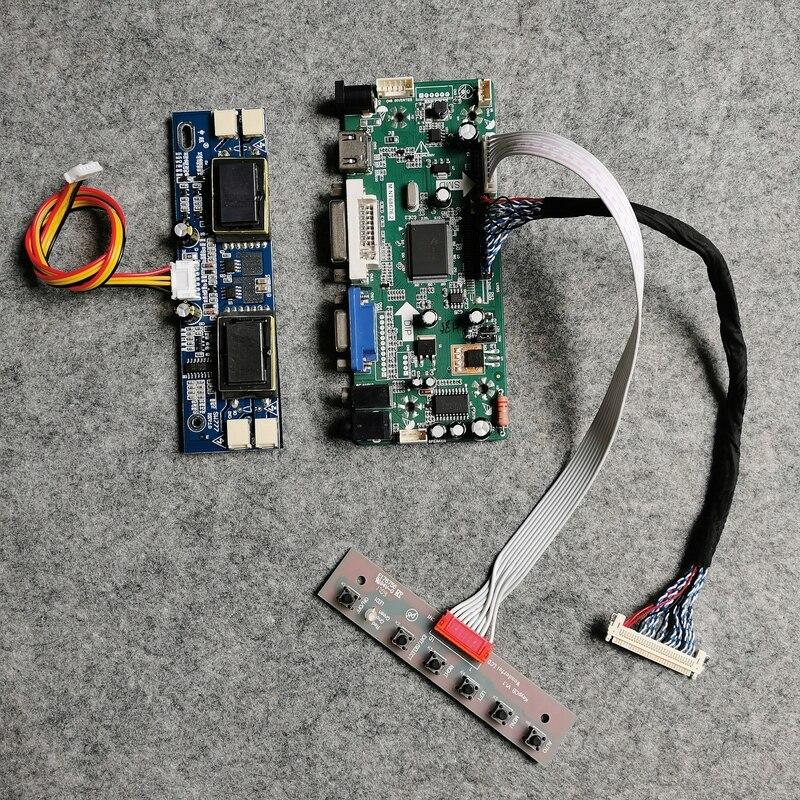 لوحة تحكم شاشة LCD VGA DVI 1920*1080 ، 30 دبوس LVDS ، لـ LM215WF1/LM215WF2/LM215WF3 ، 4-ccfl ، مجموعة DIY