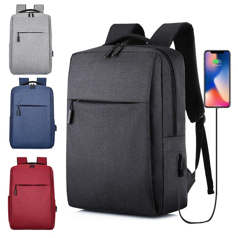 Rucsac pentru laptop cu USB, rucsac antifurt cu rucsac școlar, - Rucsacuri - Fotografie 1