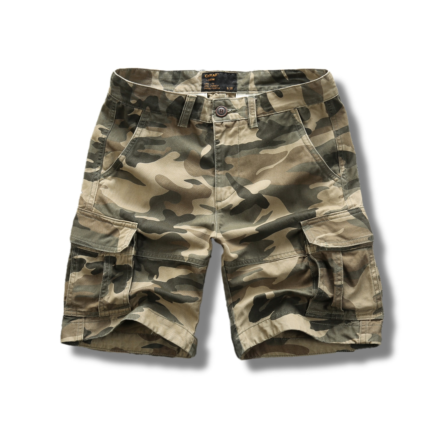 Sports Shorts Cotton 100% Men Camouflage Pants S-XXL Mens Summer Casual Custom Wholesale Tooling Cargo for