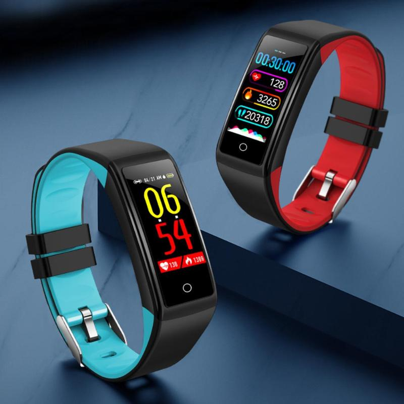 Smart Band Blood Pressure Heart Rate Monitor IP67 Waterproof reminder Bracelet for Android iOS