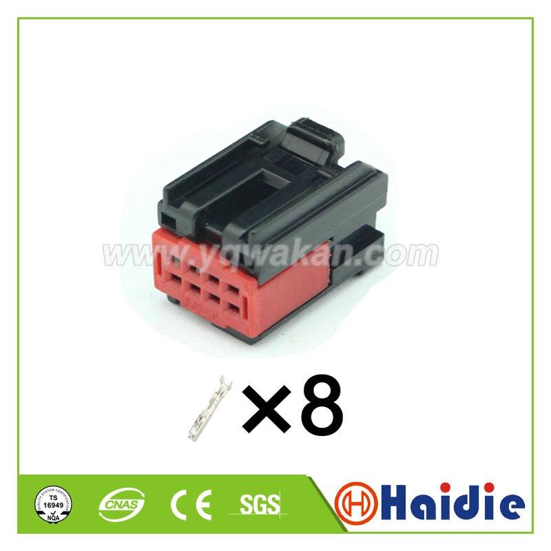 Amp tyco-conector de cable de plástico para coche, arnés cableado, 2 juegos,...