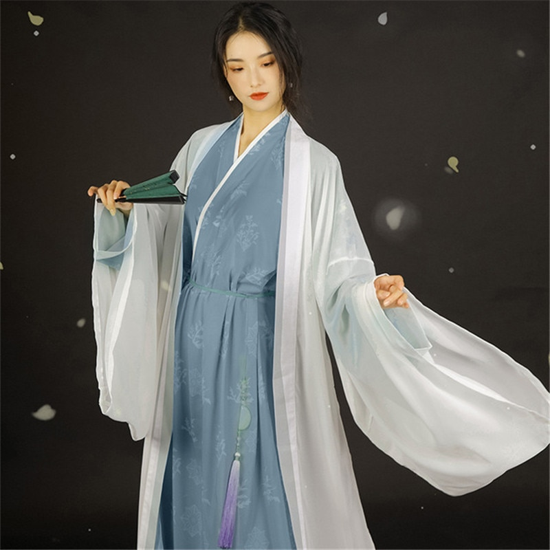 Woman Chinese Traditional Dance Costumes Hanfu Dress Oriental Tang Dynasty Dress Fairy Performance Costume Hanfu Outfit 4001299066233 фото