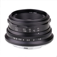 Ручной фиксированный объектив RISESPRAY MINI 35 мм F1.6 для камеры Sony E Mount Camera APS-C